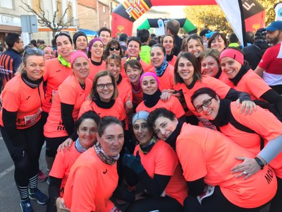 "L'EQUIP ""YES WE RUN!"" DE GUISSONA PARTICIPA A LA VOLTA DE L'ESTANY D'IVARS"
